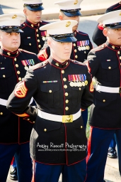 marines standing at attention, quantico photographer