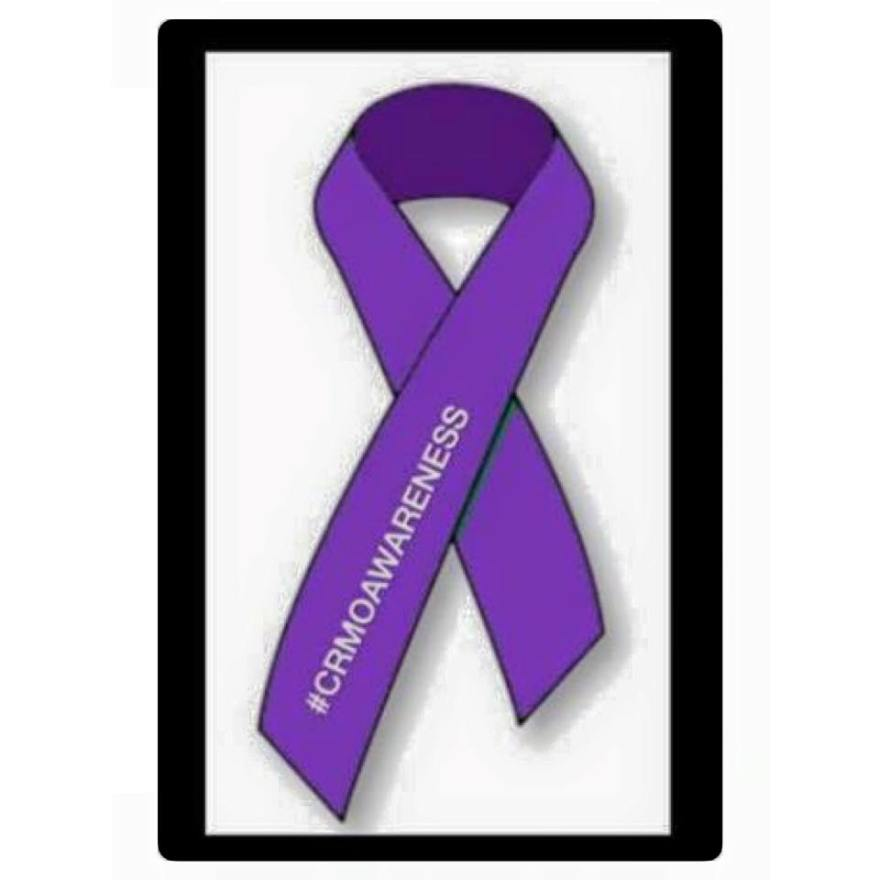 CRMO awareness ribbon