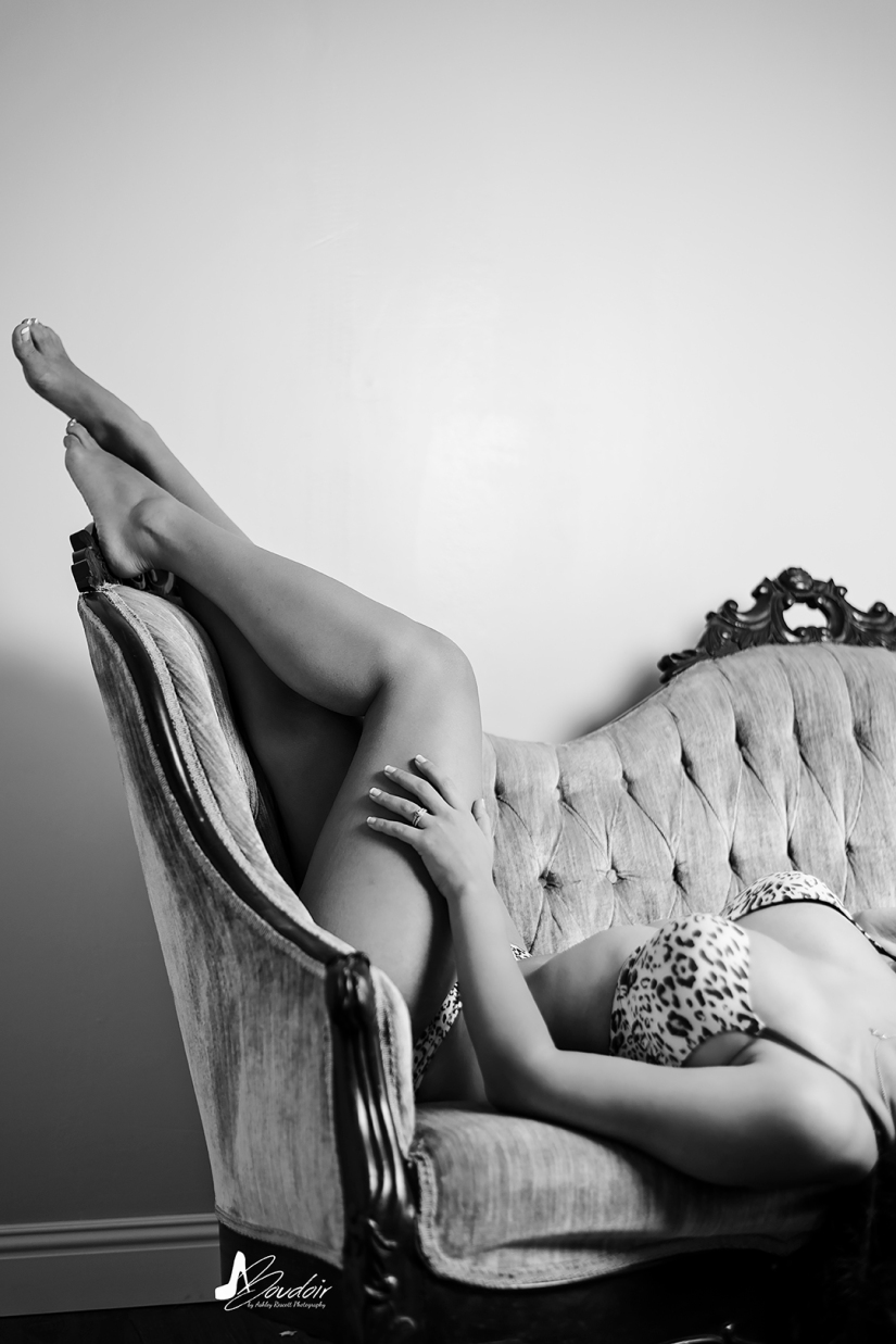 anonymous image of a woman on a couch