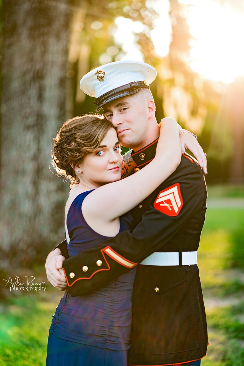 marine ball portrait